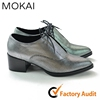 15GRFWS001 SILVER New style women lady fashion shoe Italian leather handmade shoes
