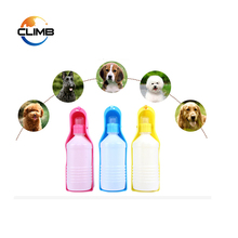 China supplier Dog Water Drinking Bottle/ Pet Travel Cat Plastic Portable Dispenser