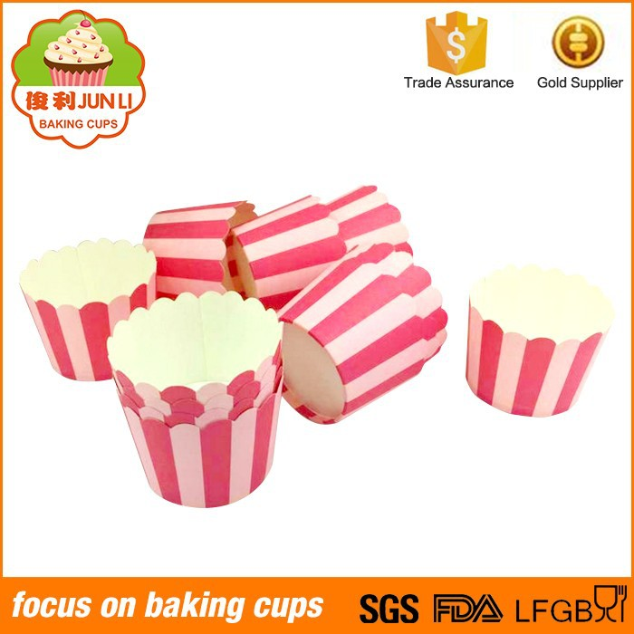 Food Grade Cupcake Wrappers Baking Cases High Temperature Muffin Paper Cup