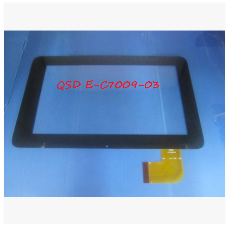 New 7 inch tablet capacitive touch screen QSD E C7009 03 free shipping