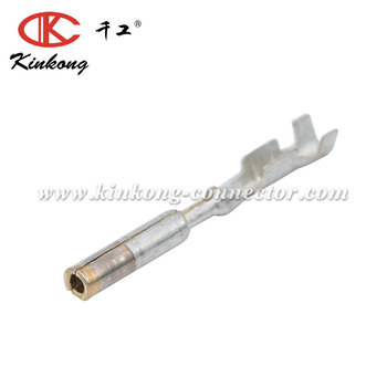 Micro-Pack 100W Series Female Unsealed Gold Plating Terminal, Cable Range 0.35 - 0.50 mm 15435885