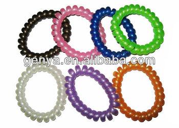 Plastic Bracelet Spiral Band Twisted
