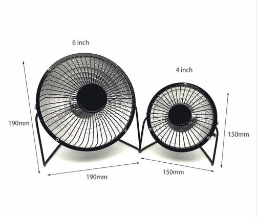 Electric Heaters promotion mute Students office Home Desktop heater Mini type small solar heater