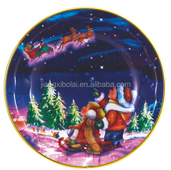 Groothandel platen nieuwe bruiloft kerst decoratieve plastic oplader plaat buy product on - Decoratieve platen ...