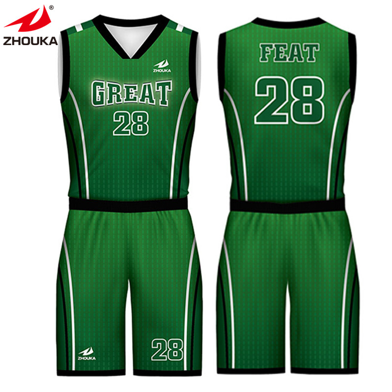 0b21cfb7044 wholesale cheap youth reversible basketball uniforms t-shirts custom  basketball jersey uniform design green