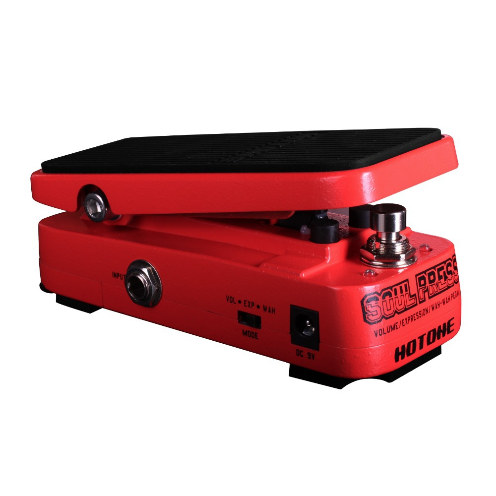 buy hotone soul press volume expression wah wah guitar pedal cry baby sound. Black Bedroom Furniture Sets. Home Design Ideas