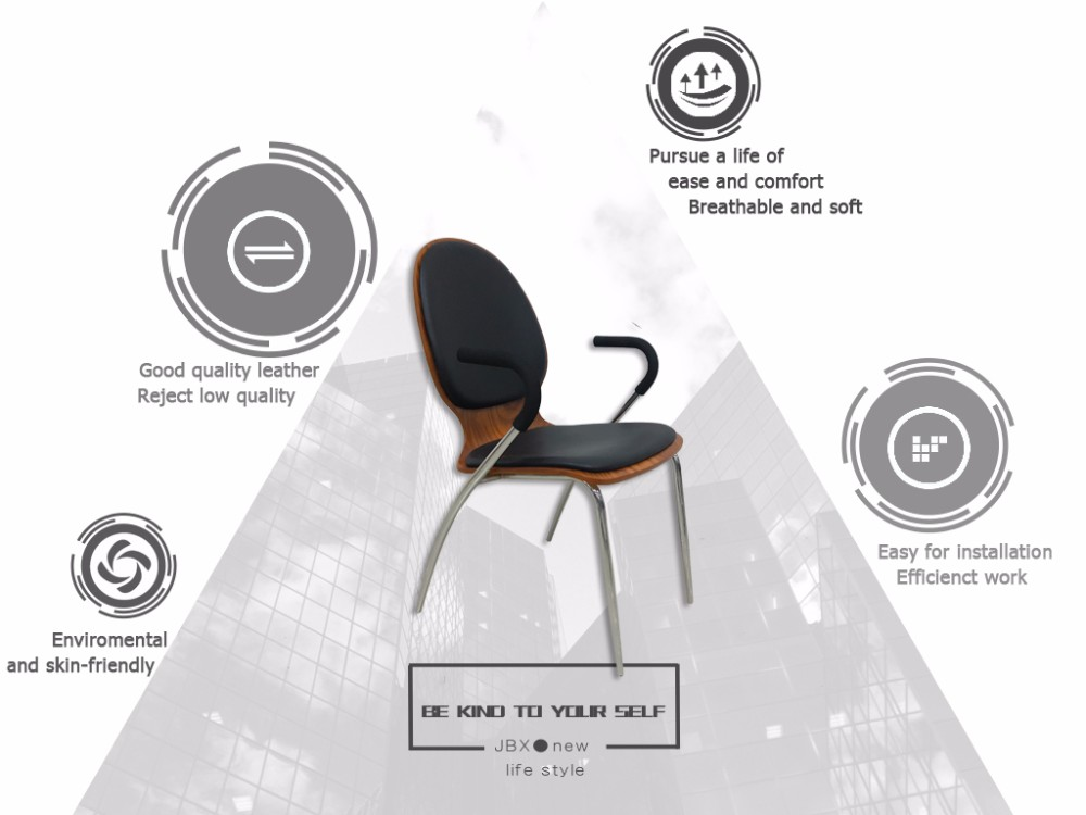 ja46 cheap high quality bentwood office visitor dining meeting chair with armrest