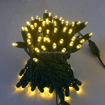 Christmas led string lights, hanging decoration outdoor led lights