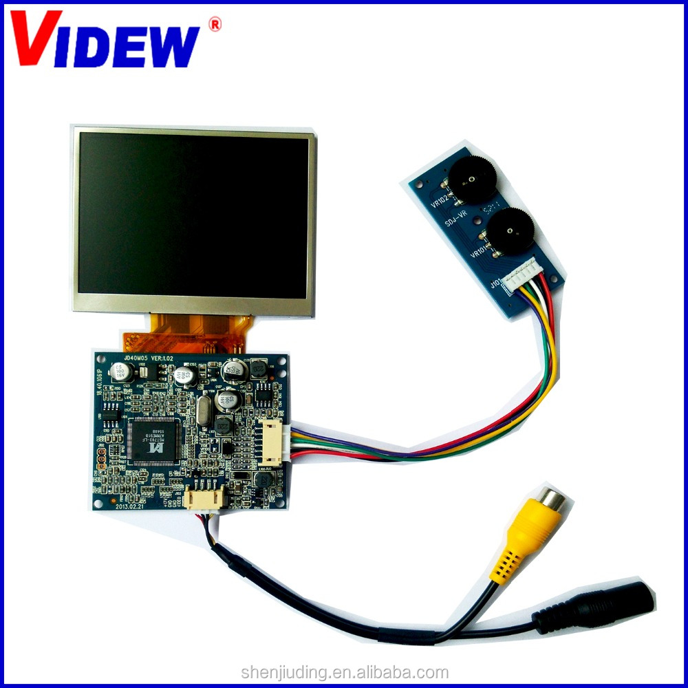 3.5 inch tft lcd panel with hdmi dashboard monitor