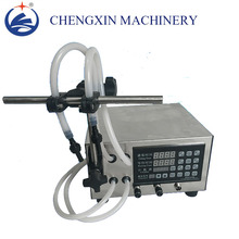 Double Head numerical control liquid filling machine for perfume ,oil, juice,water,milk,small-scale liquid filling machine