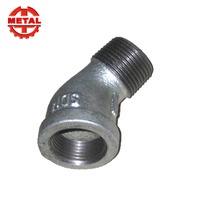Malleable Iron Pipe Fitting Dimension Street Elbow No.92