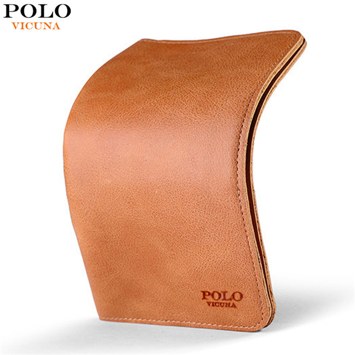 VICUNA POLO 2017 New Arrivals Genuine Leather <strong>Wallet</strong> Fashion Brown Ultrathin Long Purse Cow Leather Men's <strong>Wallet</strong>