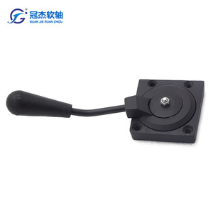 GJ1103G throttle control part zinc alloy body can be connected to a steel core