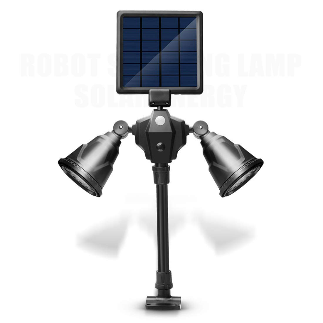 Sububblepper Solar Lights Outdoor, 36 LEDs Waterproof Solar Spotlight Adjustable Wall Light 4 Modes Security Lights for Patio, Deck, Yard, Garden (Color : Cold White)