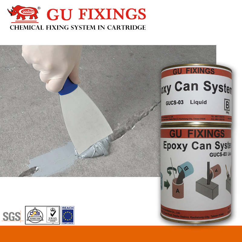Low shrinkage modified hardner adhesive epoxy floor