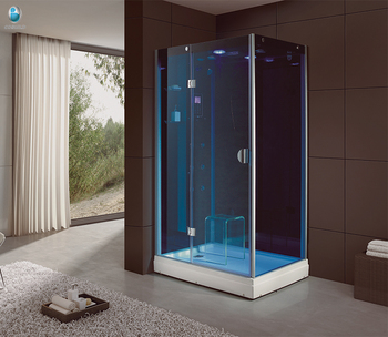 Complete Mage Shower Cabin Sauna Steam Room Combination For Portable