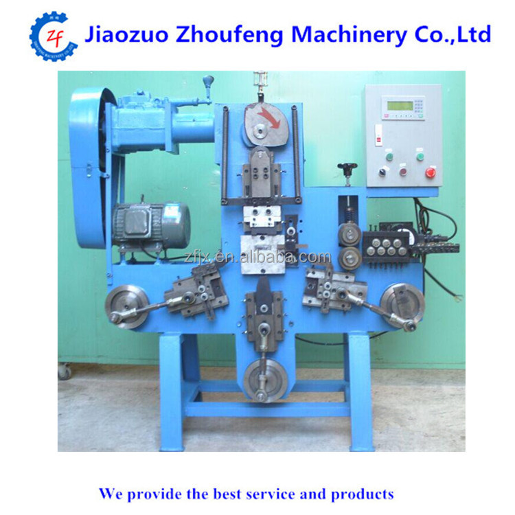 Wire Buckle Spring D-ring Making Machine - Buy Wire Spring Making ...