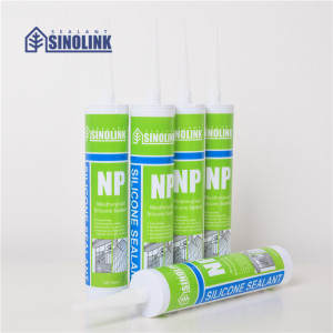 SINOLINK Acrylic sealant silicone sealant empty cartridge for caulking