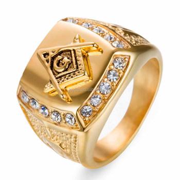 3jm 001 Men s Latest Gold Finger Ring Designs Stainless Steel New