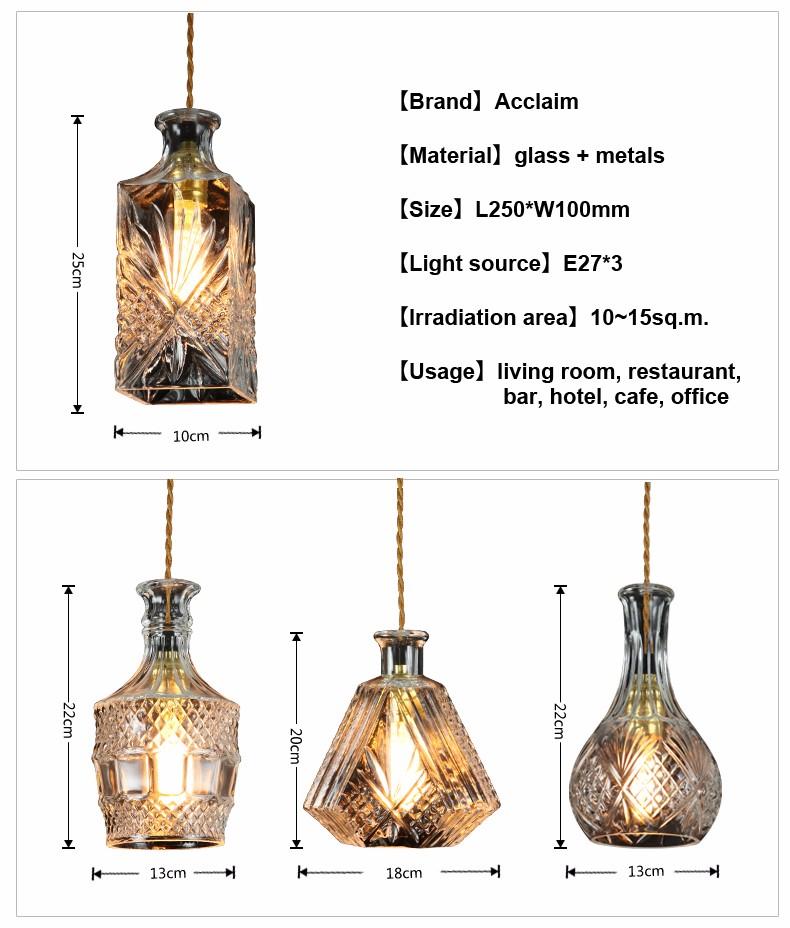 European Wine Bottle Lamps For Sale Led Glass Bottles Hanging ...
