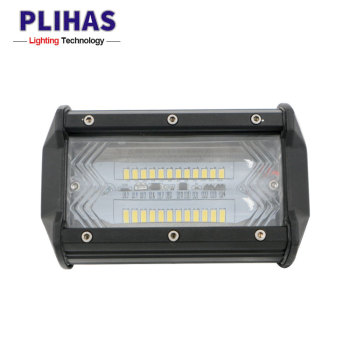 Guangdong 5 Inch 12V 72w Auto Car Headlight Dual Rows LED Light Bar Spotlight for 4X4 Truck SUV Boat ATV