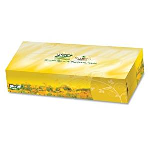 "Wholesale CASE of 10 - Marcal Pro 2-Ply Facial Tissue-Facial Tissue,2-Ply,Soft,4-1/2""x8-3/5""x1-4/5"",30 BX/CT,WE"