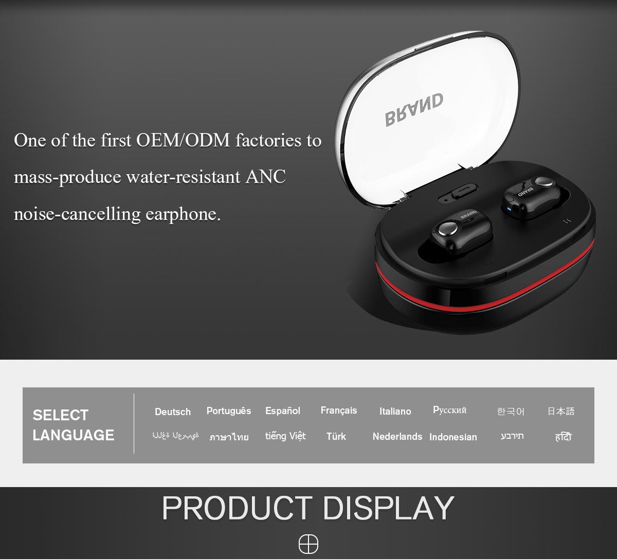 Shenzhen Sande Dacom Electronics Co Ltd Bluetooth Speaker Earphone Ht Cina Headphone