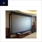 4K Imported 3D Metal In-Ceiling Projection Screen Fabric HCL1-Sound Max5 MF