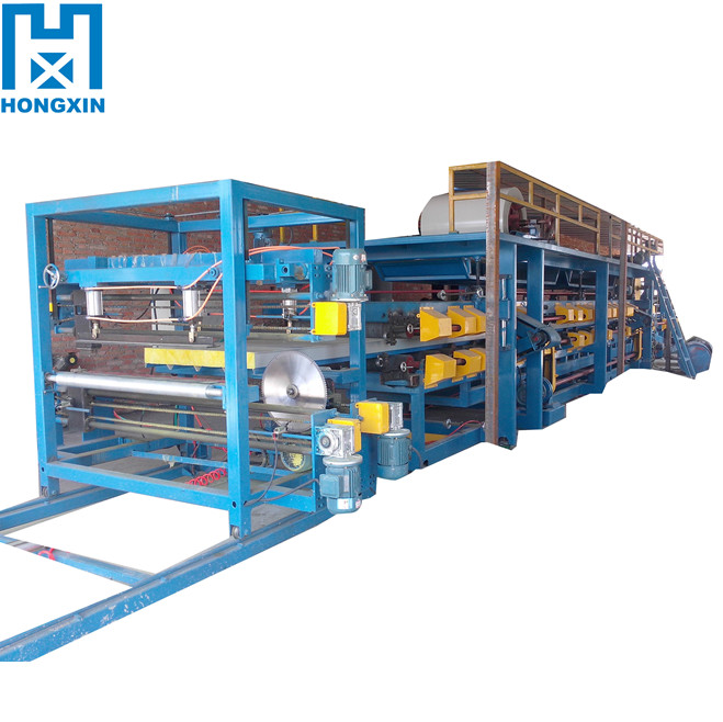 Hebei Colored Steel Cement Tile EPS Sandwich Panel Roof Sheet Roll Forming Machine for Sale