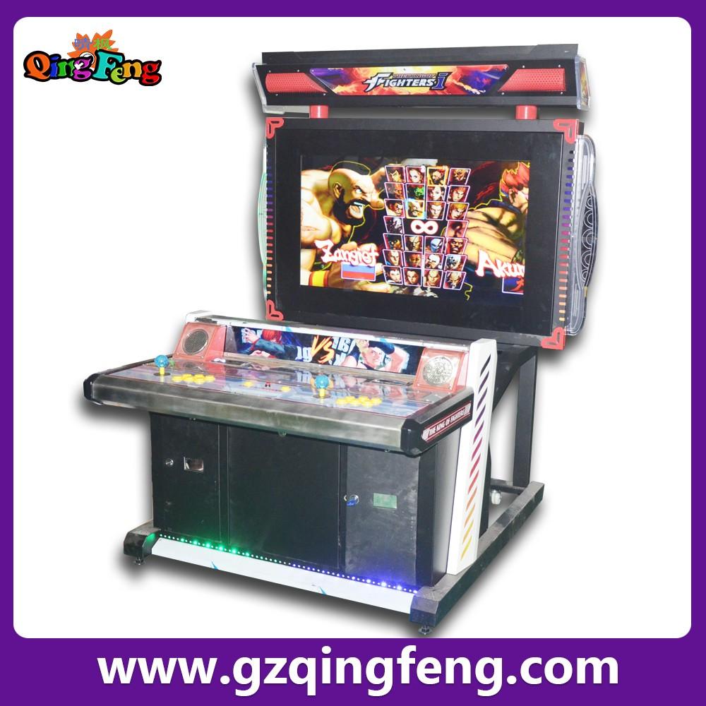 Coin Operated Street Fighting Game Machine Tekken Video Arcade ...