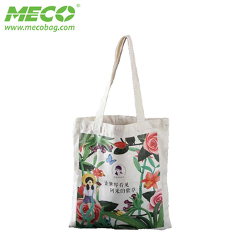 Customized Design Large Tote Canvas Shopping Bag