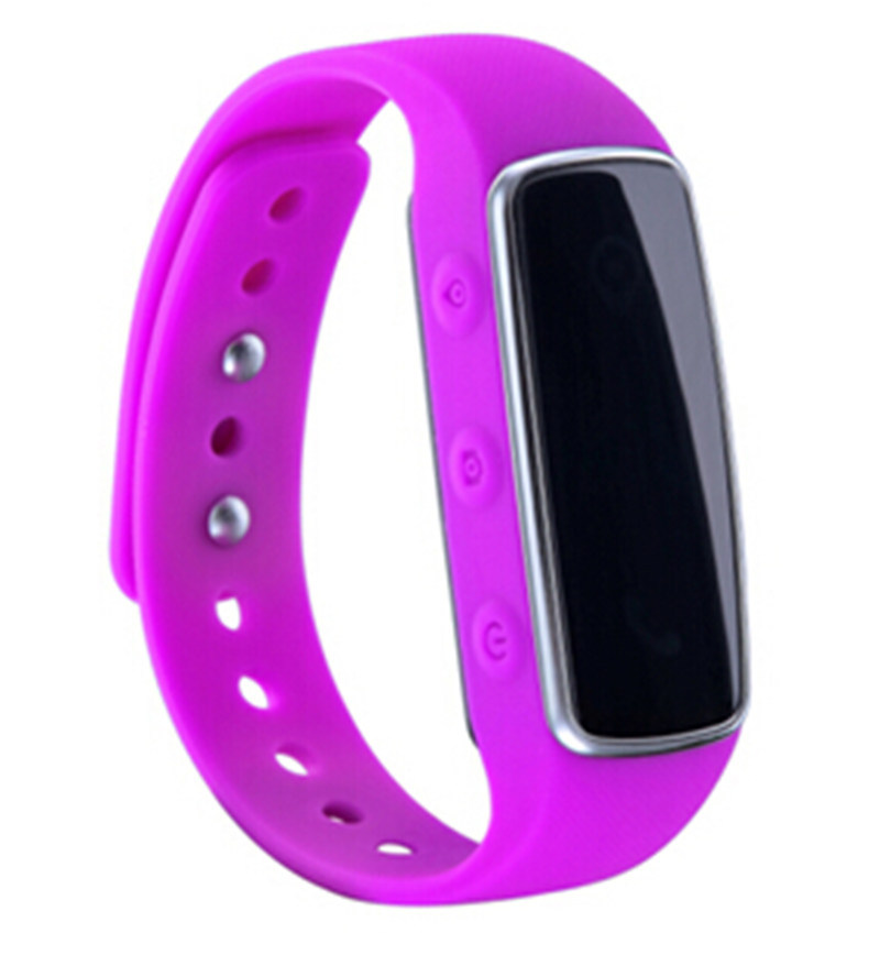 Bluetooth Smart Bracelet Sport Band Clock E01 with Pedometer Remote Camera Message Call Reminder Location Track Calorie Counter