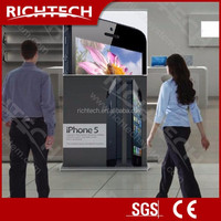 Richtech free printing pull up banner stand projection roll up banner
