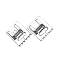 Pin tuck foot,set of 2 .5-groove & 7-groove