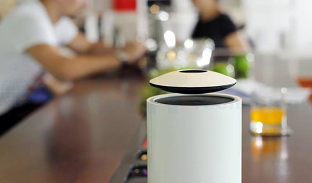 Levitating Mars speaker takes your music to new heights