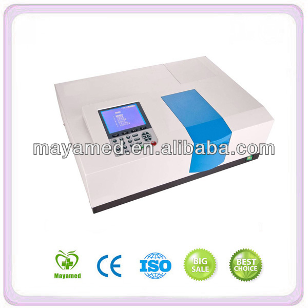 High quality Laboratory Portable uv vis Spectrometer price Professional digital UV-VIS Spectrophotometer