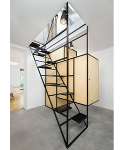 Fancy Modern Simple Attic Stairs For Small Space Hydraulic Attic Stairs