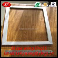 China custom OEM aluminium frame housing, extruded aluminum alloy dow frame pass ISO9001