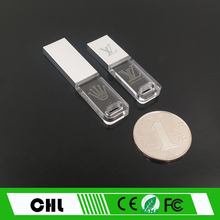 CS-C06 LOGO engaved MIni Business crystal U disk