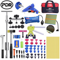 Super PDR Car Body Repair Kit Paint Less Dent Removal Tools dent puller slide hammer For Automobile Body repairing