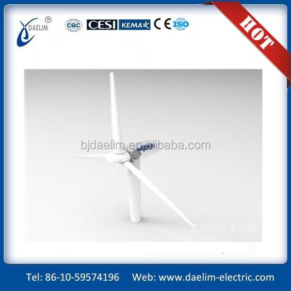 wind turbine detail parameter and quotation supplier from china