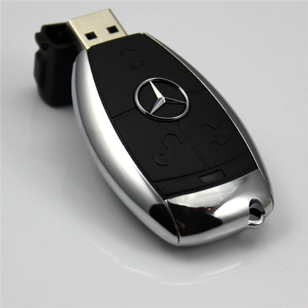 special USB flash pen drive 4G/8G storage with ID tag and bling chain