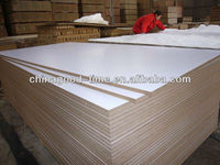 one side or double sided melamine mdf with CARB