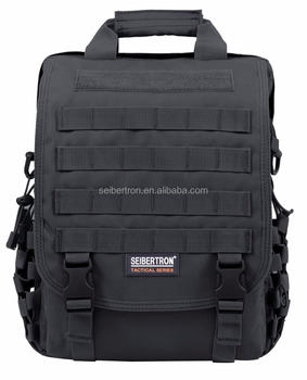 "Seibertron waterproof Military Molle Tactical 14"" (inch) Laptop bag Sling BAG Backpack"