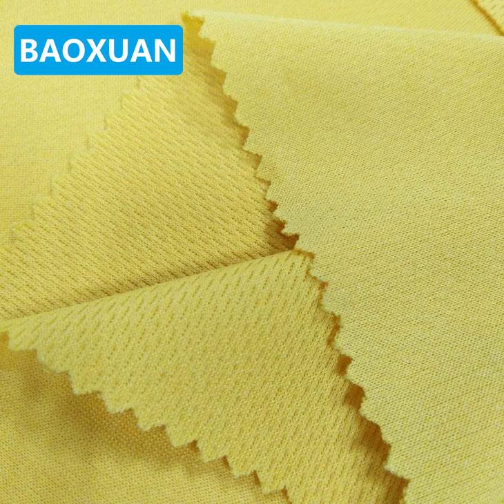 Effen kleur dri fit bird eye mesh gebreide polyester mesh stof prijs kg voor loopschoenen