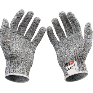 High quality durable breathable leval 5 protect anti cut proof kitchen safety gloves