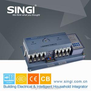 100-225 amp dc automatic transfer switch intelligent 3P/4P CCC ISO9001  dual-power automatic transfer switch