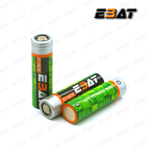 lion power vaporizer battery high drain rechargeable li-ion 3.7v ebat 3000mah 18650 battery