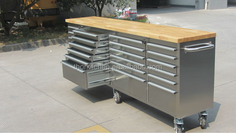 Hot 96 Stainless Steel 24 Drawers 6 Casters Mobile Workbench Buy Mobile Workbench Steel