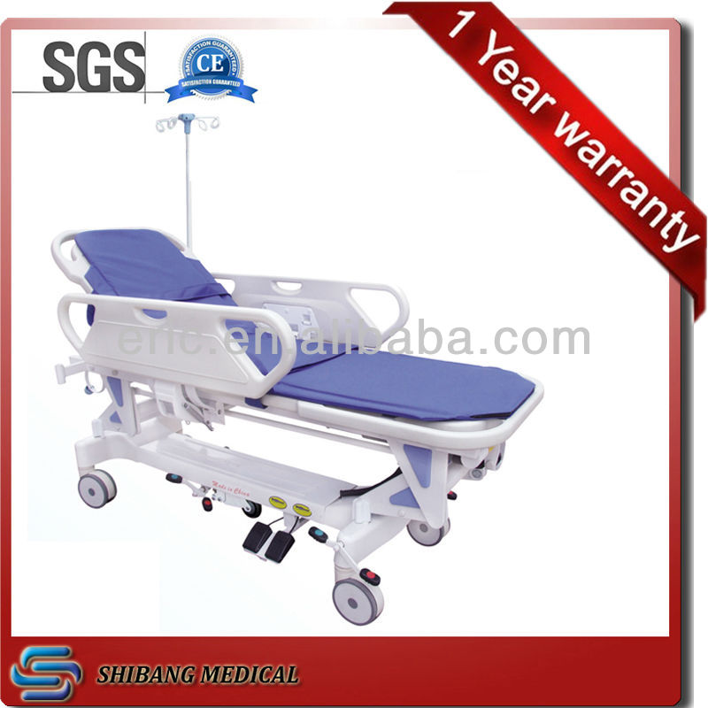 Good hospital furnitture ! SJ-TS009 electric transport stretcher